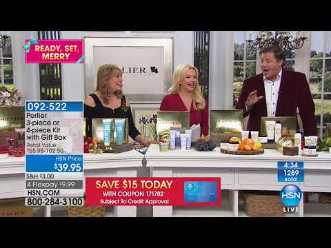 HSN | Perlier Beauty Gifts 12.10.2017 - 01 PM