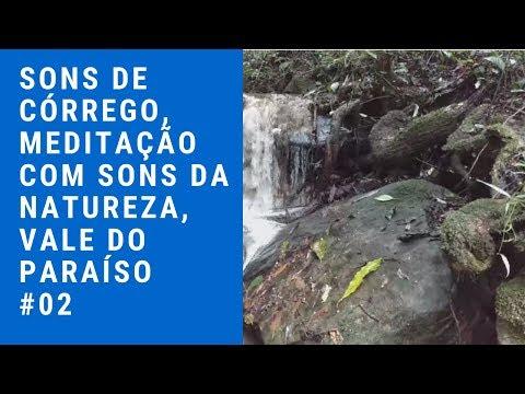 ✅Sons👂 de Córrego, 🌄Meditação com Sons🎵 da Natureza,🦜 Vale do Paraíso✅