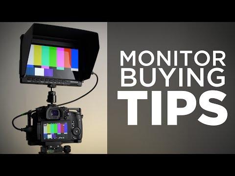 Camera Monitor Buying Tips