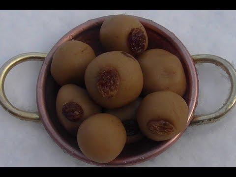 Mohanbhog met kokosmelk (vegan, prasadam)