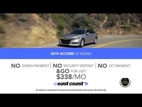 $0 Down Honda Lease Specials
