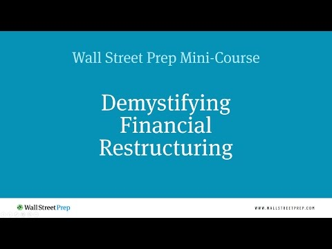Financial Restructuring Mini Course - 11 of 11 - Distressed Debt Perspective