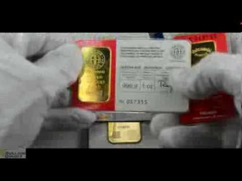Pure Gold Bullion Bars from Bullion Direct!