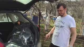 Шумоизоляция автомобиля своими руками Mazda cx 5 пол.(Шумоизоляция автомобиля своими руками Mazda cx 5 пол. Подробная видео инструкция по установке дополнительной..., 2015-05-05T18:19:56.000Z)