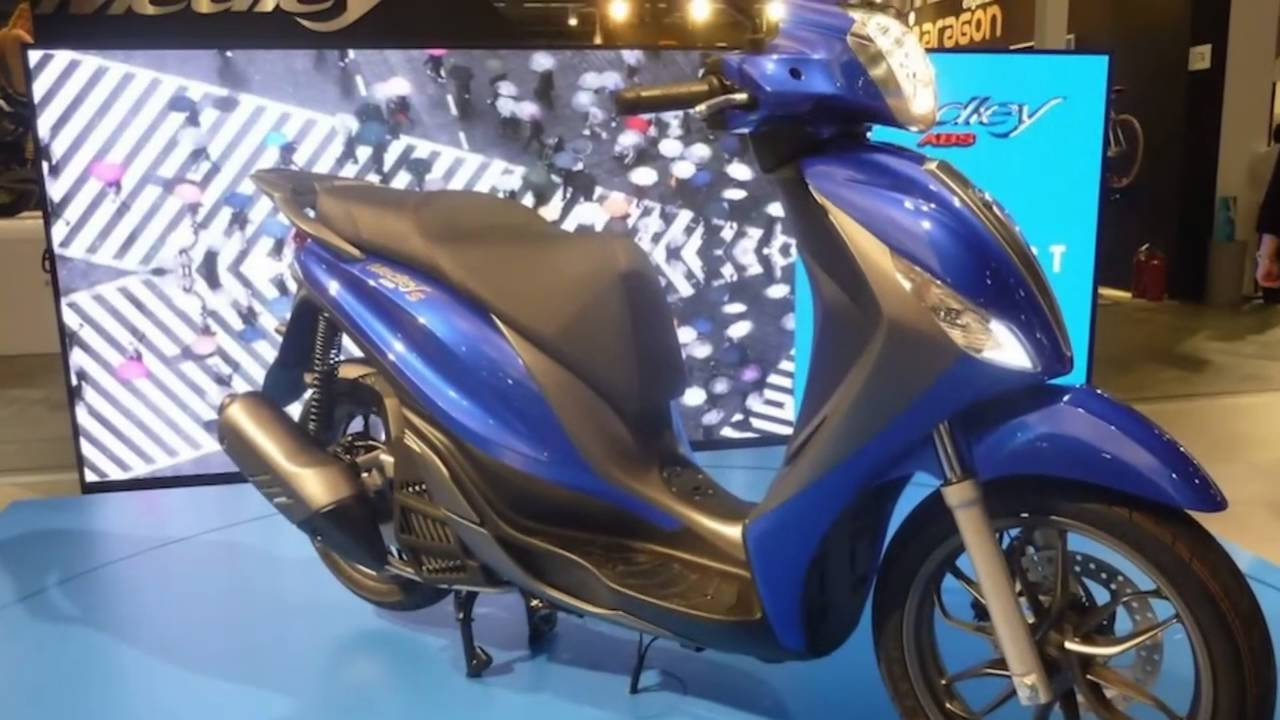 2016 piaggio medley 150 abs - youtube