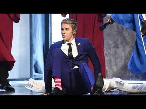 Justin Bieber Tripping and Falling Compilation