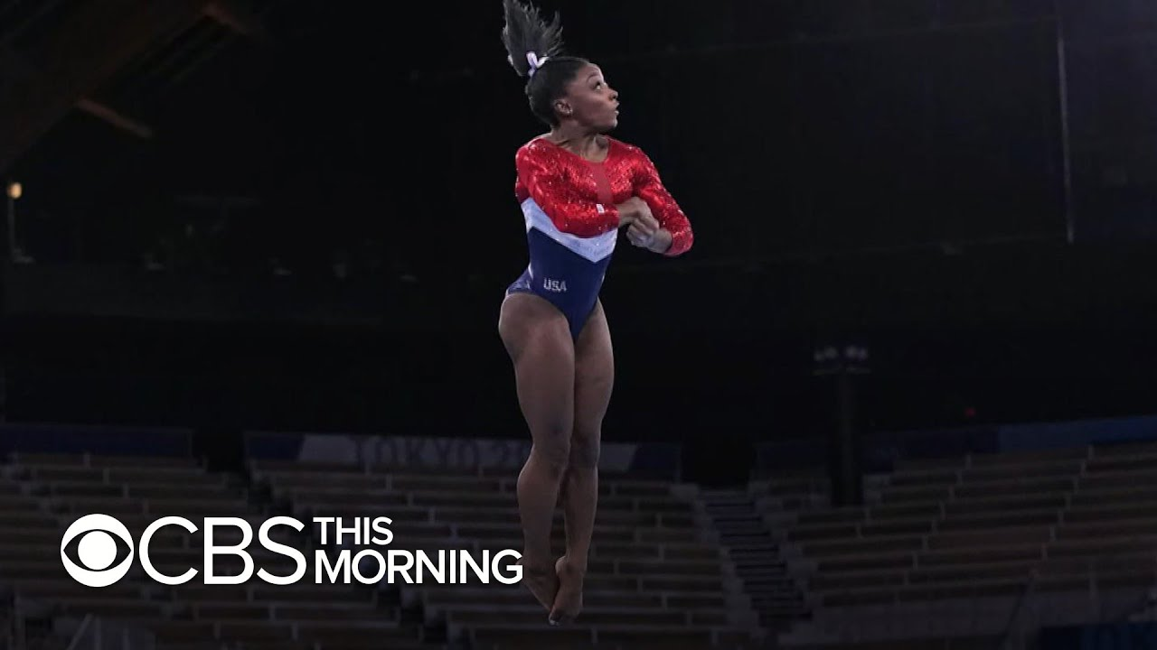 Simone Biles Says She Pulled Out Of Gymnastics Finals Due To ...