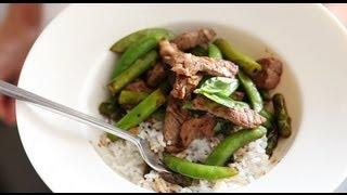 Beef, Snap Pea, And Asparagus Stir-fry | Everyday Food With Sarah Carey
