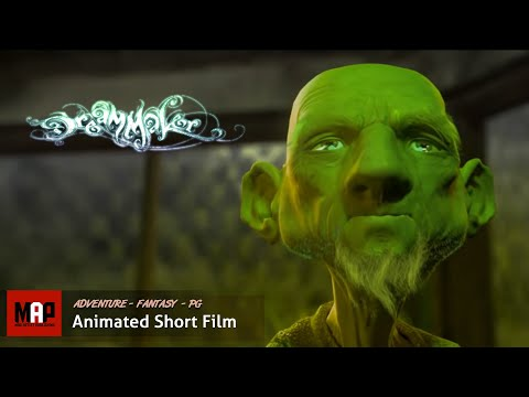 CGI 3D Animated Short Film DREAMMAKER. Beautiful Fantasy Animation for Kids by Leszek Plichta