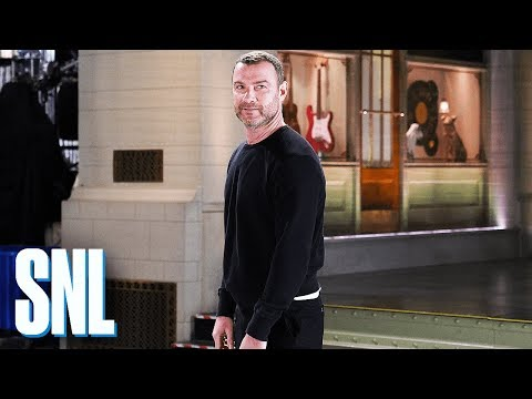 There's Something Wrong with Liev Schreiber  SNL