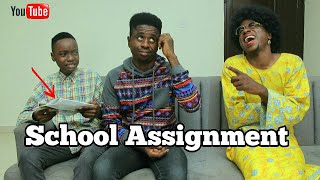 My Mathematics Assignment | Mc Shem Comedian