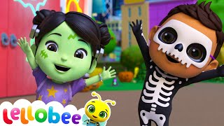 Trick Or Treat Song! | @Lellobee City Farm - Cartoons & Kids Songs | Learning Videos Forr Kids