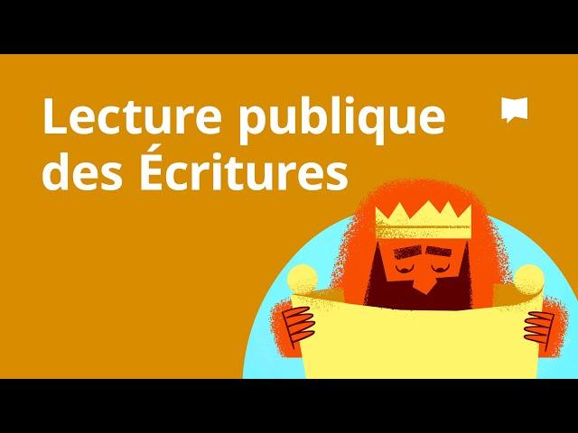 Lecture Publique des Écritures