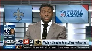 NFL Total Access 1/22/2019 - Who is to blame for Saints offensive struggles?