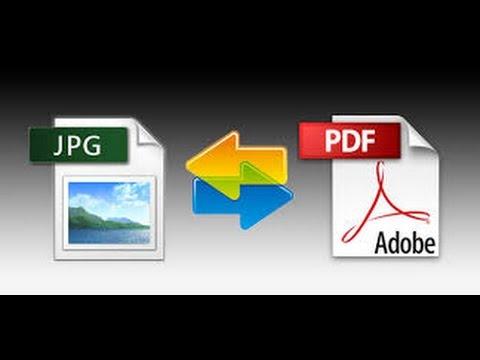 تحويل بدي اف الى صورة Jpg  بدون برامج , Convert Pdf To Jpg