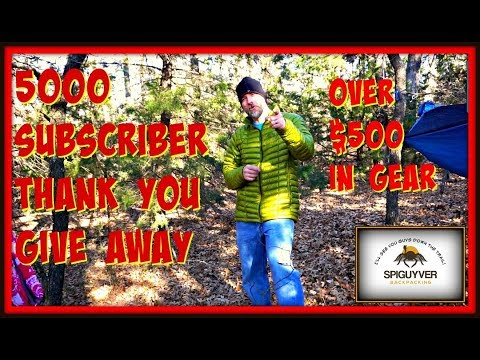 HUGE 5000 sub GAW - over $500 in Gear!