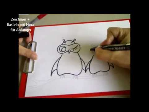 Eule Zeichnen Zeichnen Lernen Fur Kinder How To Draw An Owl For
