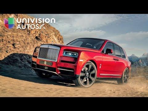 Cayó el que faltaba: Rolls-Royce estrena su primera SUV   Univision Autos