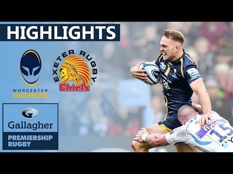 Worcester 20-24 Exeter - HIGHLIGHTS | Late Try Drama at Sixways | Gallagher Premiership 2019/20