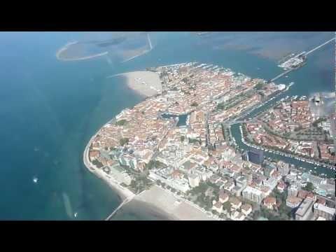 Flug nach Venedig