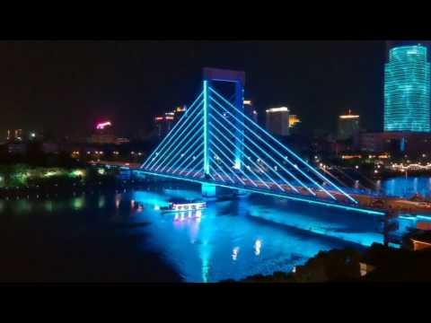 Stormy Night in Ningbo China     AirVuz     A Drone Vedio