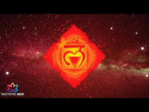 Root Chakra Healing Music - Let Go Worries, Anxiety, Fear -