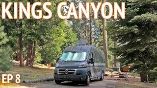 Kings Canyon National Park | Camper Van Life