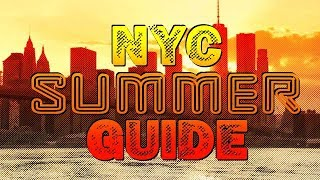 NYC Summer Travel Guide- Top 12 Things To Do from a Local !