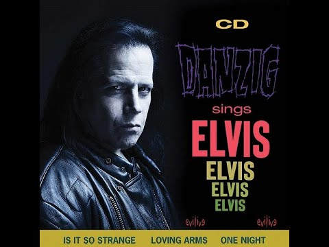 Danzig Sings Elvis performances postponed new album pre orders up now CD/vinyl