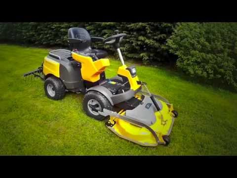 Stiga Park Pro 540 IX mulching ride-on mower review in HD