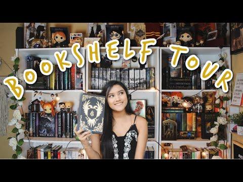 BOOKSHELF TOUR 2020  *OVER 300 BOOKS*