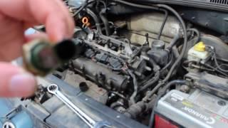 How I changed the oil pressure sensor on my VW Golf 4 1.6 AZD