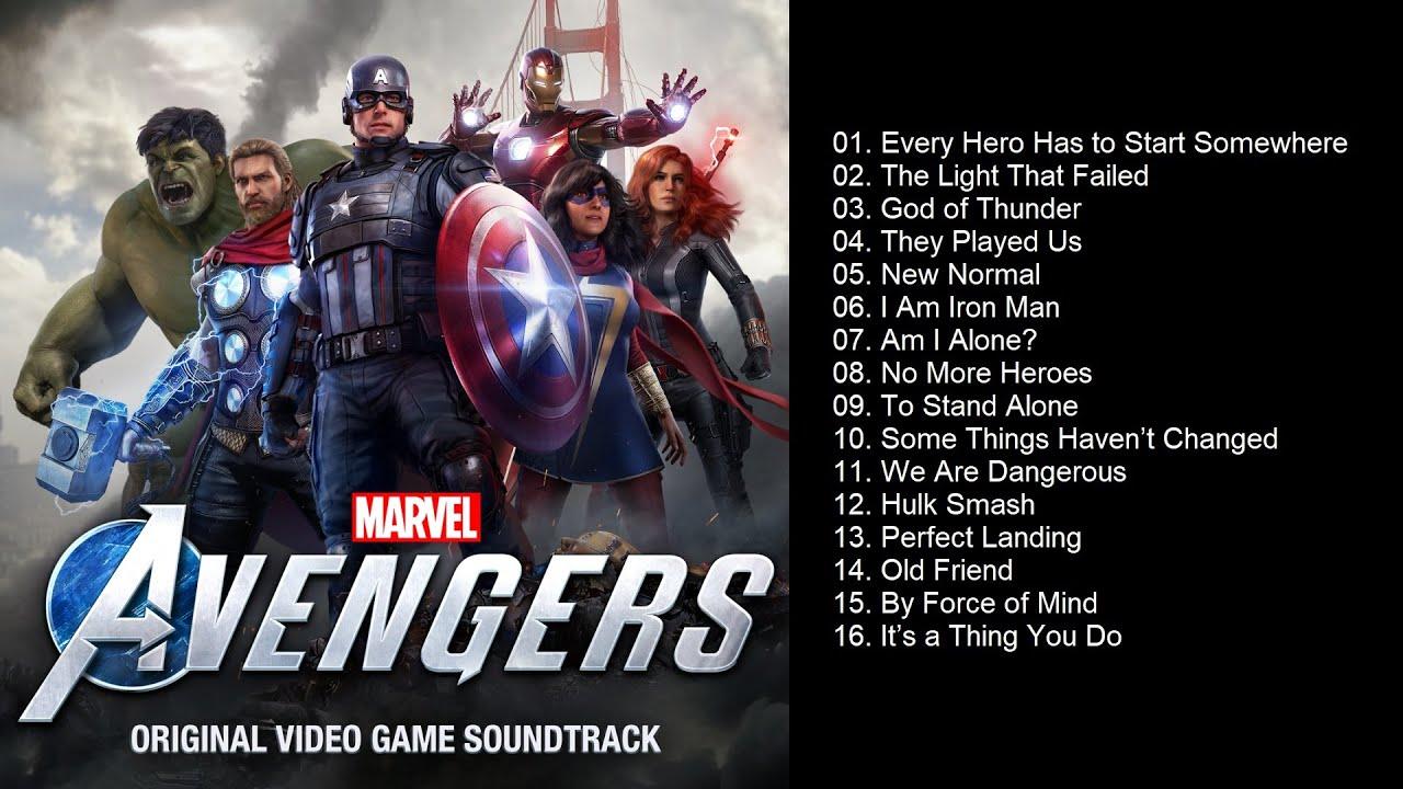 Marvel's Avengers (Original Video Game Soundtrack) | Full Album