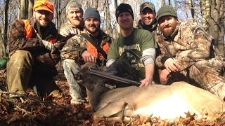 PA Flintlock Muzzleloader Whitetail Hunt with Kill Shot and GoPro Footage.