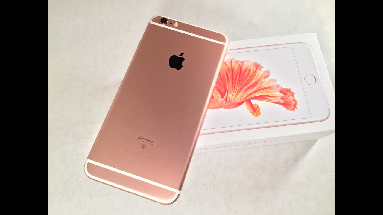 kiimilog]iPhone 6s(Rose Gold 128GB) + iPhone 6(Gold 16GB) - YouTube