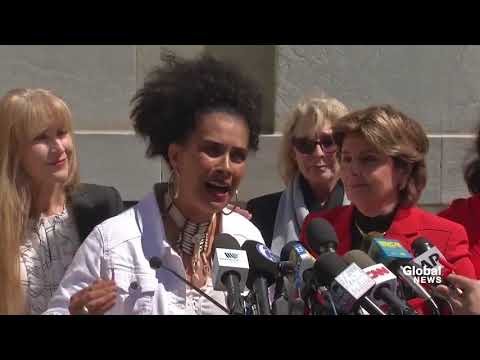 """We are vindicated"": Bill Cosby accusers celebrate guilty verdict"