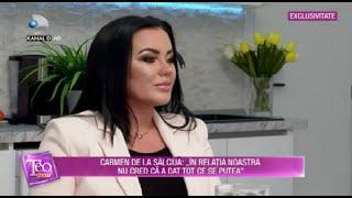 Teo Show(01.02.2021) - EXCLUSIV | Carmen de la Salciua, ganduri de implinire catre Culita Sterp!