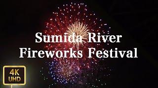 DJI Osmo Pocket -隅田川花火大会 Sumida River Fireworks Festival【4K】【July 2019】