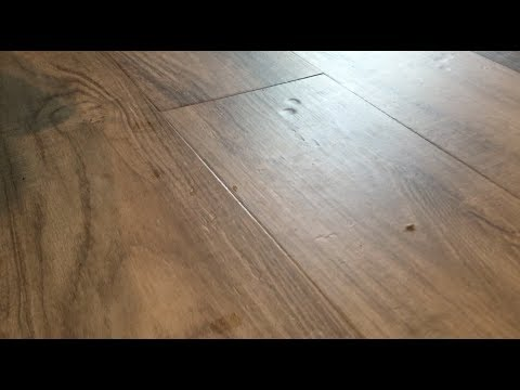 NuCore Luxury Vinyl Plank LVP Flooring Dents/Issues