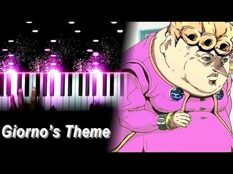 """""""Giorno's Theme"""" / """"il Vento D'oro"""" - JoJo's Bizarre Adventure: Golden Wind OST (Piano)"""