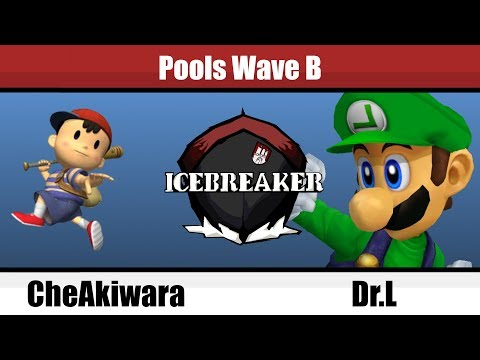 Icebreaker - CheAkiwara (Ness) Vs. Dr.L (Lugi) - Pools - Melee Singles