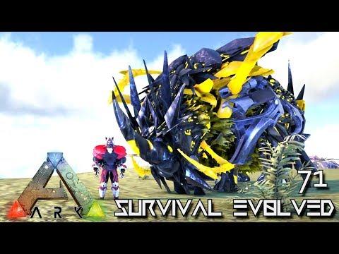 ARK: SURVIVAL EVOLVED - NEW TEK RHINO & MAMMOTH KING FOREWORLD MYTH !!! E71 (MOD EXTINCTION CORE)