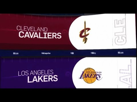 Lakers vs. Cavaliers: 3 Things to Know (1/13/19)