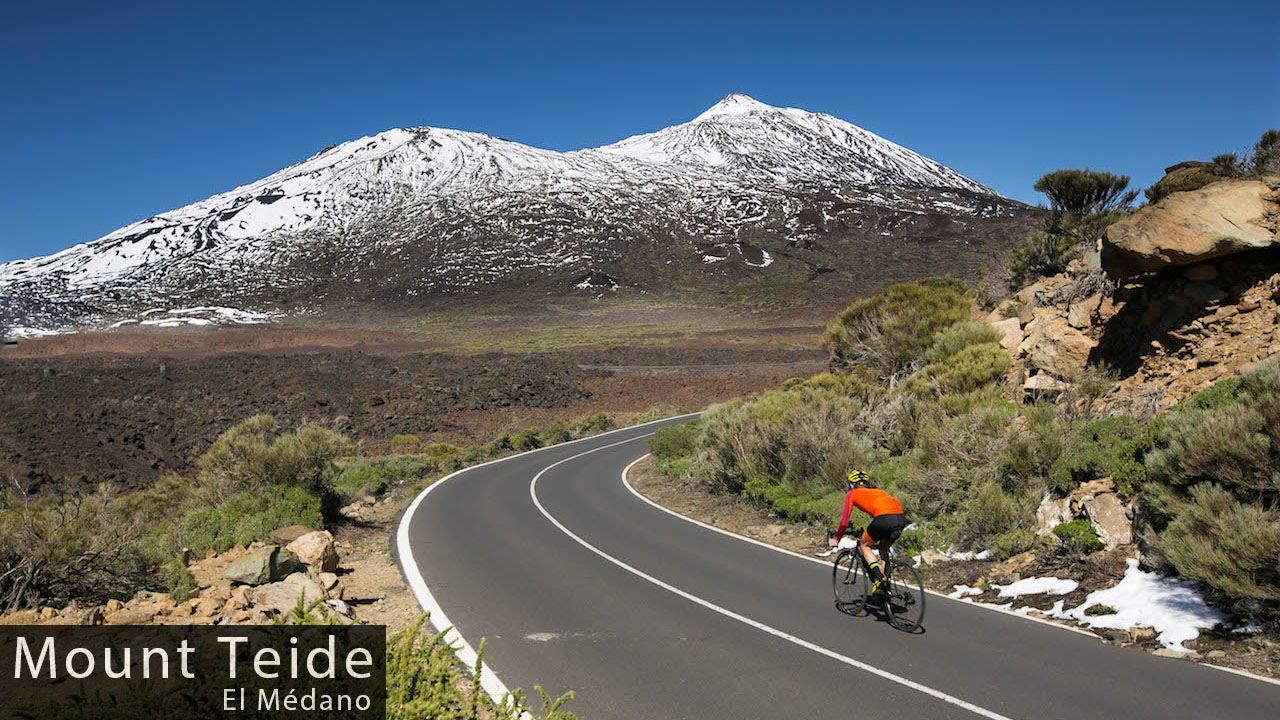 Mount Teide Tenerife Cycling Inspiration Education YouTube