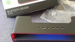 UNBOXING BLUETOOTH SPEAKER BS-600 (FOREVER)