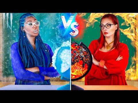 Giáo Viên Nóng vs Lạnh / 16 Mẹo Tự Làm Đồ Dùng Học Tập Kỳ Lạ