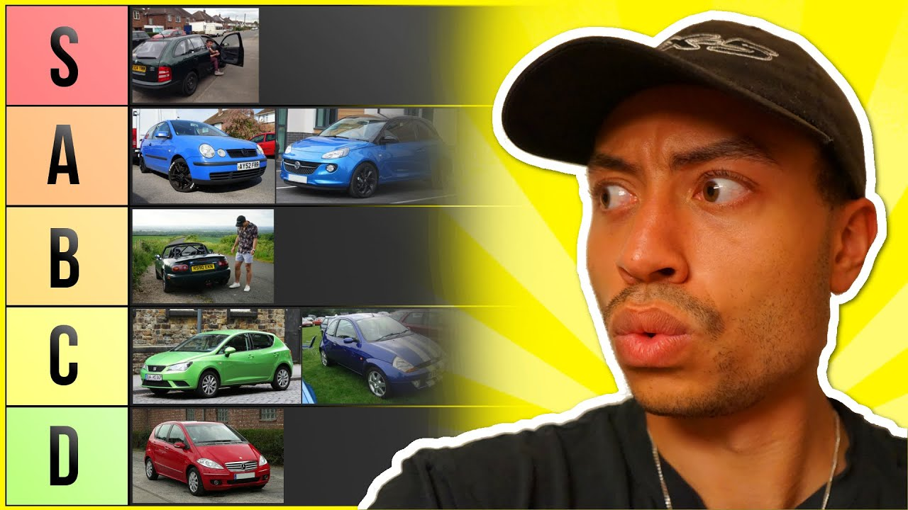 ULTIMATE CHEAP FIRST CAR TIER LIST! (£200 – £5,000)