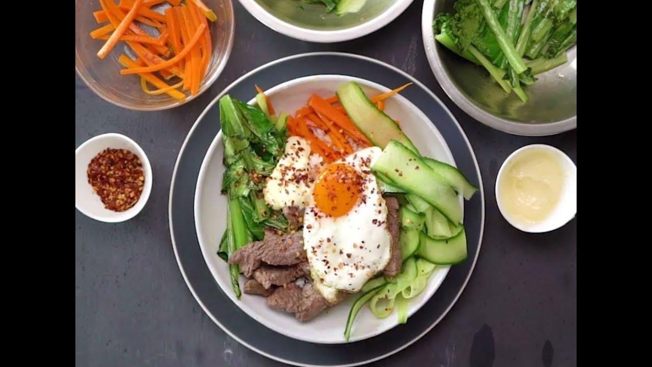 Korean Beef Bibimbap With Sesame Rice And Garlic Aioli Classic
