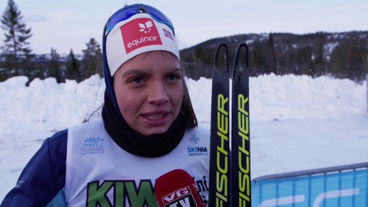 Kristine Stavås Skistad Tok Nm Sølv Youtube
