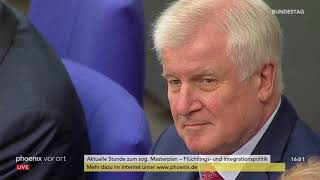 Bundestag: Aktuelle Stunde zum Masterplan